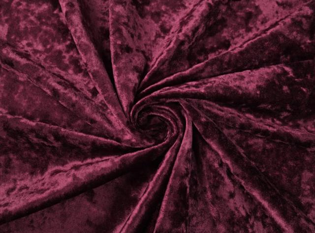 Vyno, bordo spalvos švelnus veltas veliūras lovoms