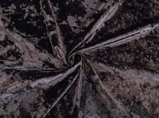 Juodos spalvos švelnus veltas veliūras lovoms