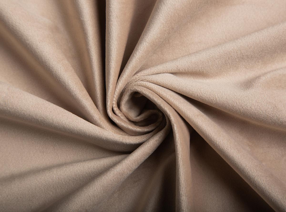 Ypatingai minkštas ir švelnus smėlinės spalvos veliūras Jūsų naujajai lovai
