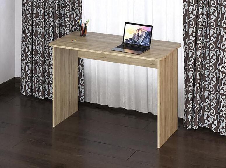 Eliza 1100 minimalistinio dizaino šviesiai rudos sonoma ąžuolo spalvos darbo stalas