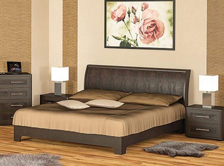 klasikinio dizaino stilinga ir funkcionali lova tokyo