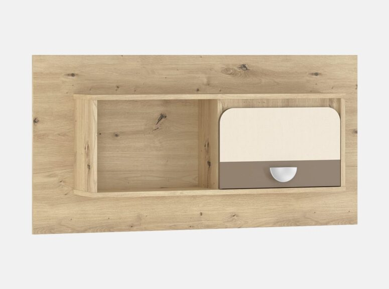 Lami pakabinama lentyna - spintelė su vienu stalčiumi