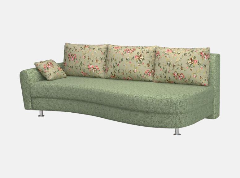 lengvai sulankstoma klasikine sofa lova fortuna su patalu deze 5