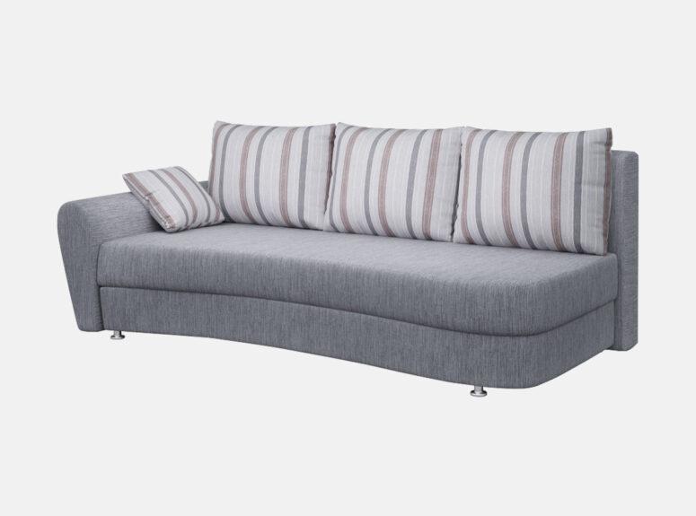 lengvai sulankstoma klasikine sofa lova fortuna su patalu deze 6