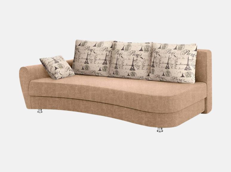 lengvai sulankstoma klasikine sofa lova fortuna su patalu deze