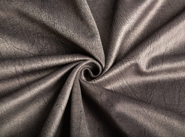 Pilkos spalvos švelnus tvirtas storas veliūras baldams