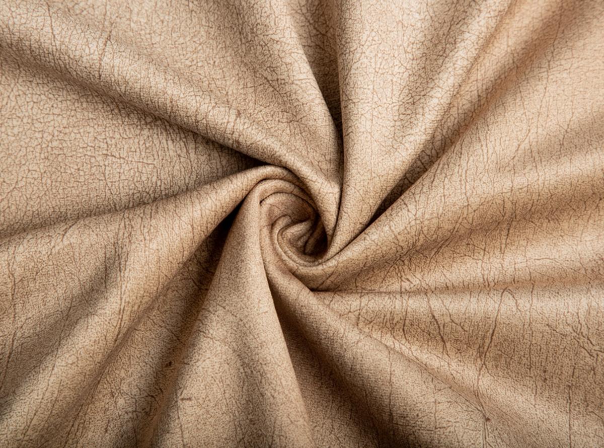 Šviesiai rudos spalvos švelnus tvirtas storas veliūras baldams