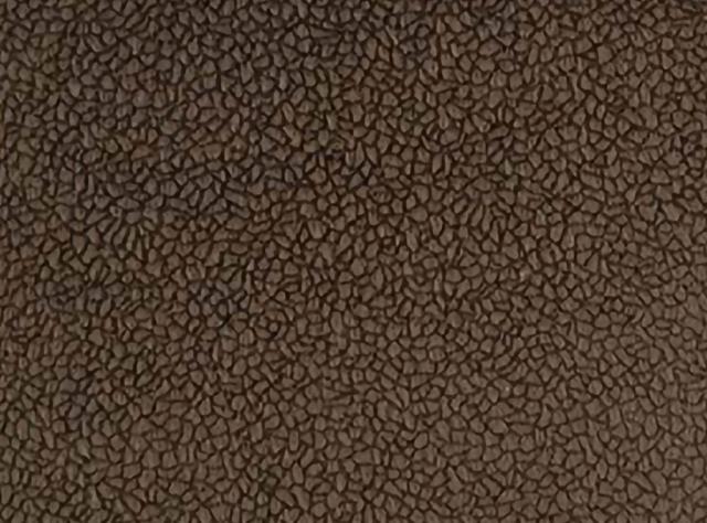 Tamsiai rudos spalvos švelnus raštuotas gobelenas