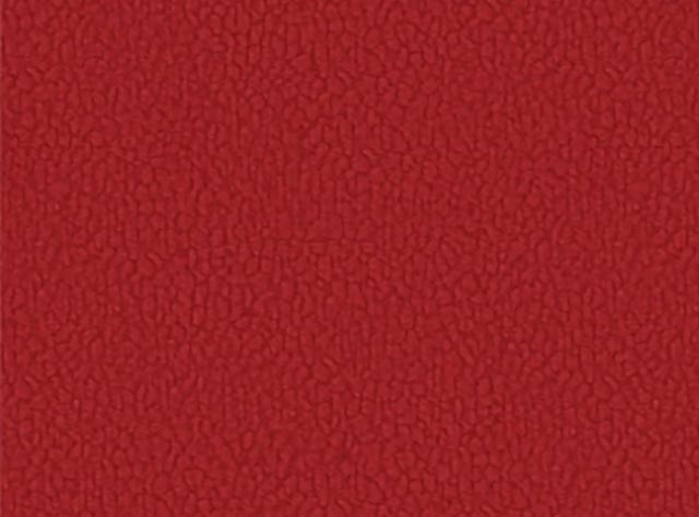 Ryškiai raudonos spalvos švelnus raštuotas gobelenas