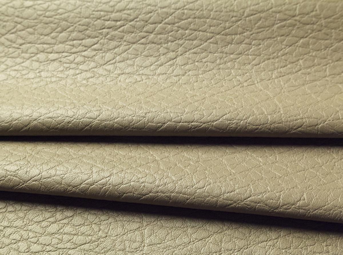 Pilkai smėlinės spalvos eko oda su tekstūra