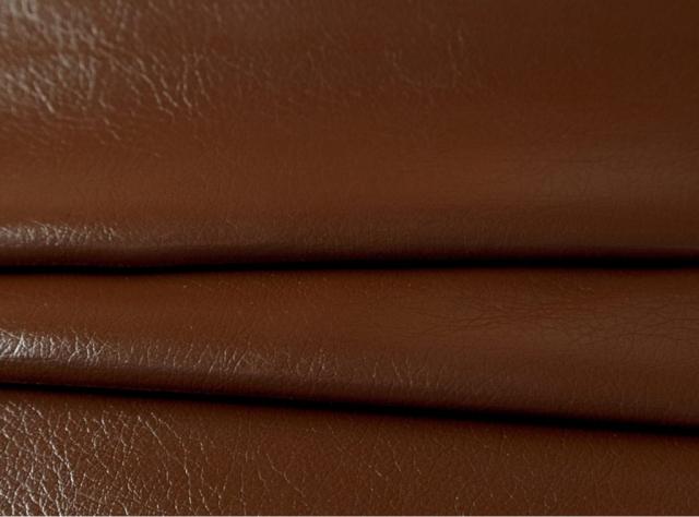 Rudos spalvos eko oda su tekstūra